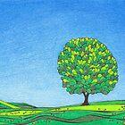 The Solitary Oak, Dormont Hill, Dumfriesshire by PennyArt