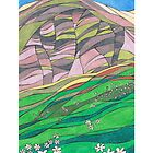 Spring Flowers by Capel Fell, Moffat Hills, Dumfriesshire by PennyArt