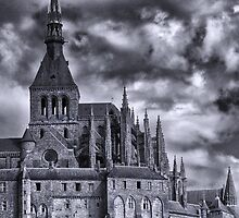 Le Mont Saint-Michel by Michael Carter