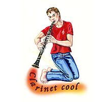 time for some Clarinet cool... Photographic Print