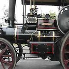 Steam Traction Engine by michael mulcahy