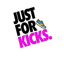 Just for Kicks Photographic Print