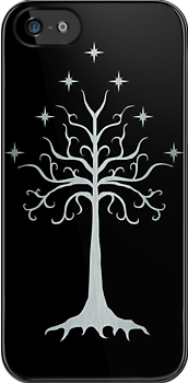 Tree of Gondor Silver Version2 by batiman