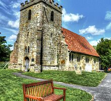 St.Thomas A Becket Church by Kim Slater