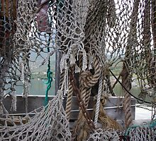 Ropes and fishing nets by intensivelight