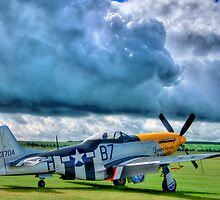 Storm Clouds Over Frankie - HDR by Colin J Williams Photography