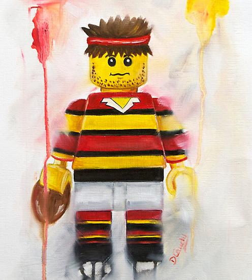 Rugby player by Deborah Cauchi