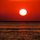 Red Sun on Cheney by Lisa McIntyre