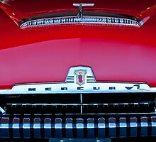 1954 Mercury Monterey Grille and Emblem by Jill Reger