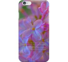 Go down to Kew in lilac-time iPhone Case/Skin