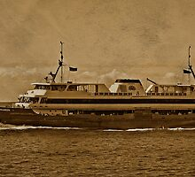 Manly Ferry Crossing by TonyCrehan