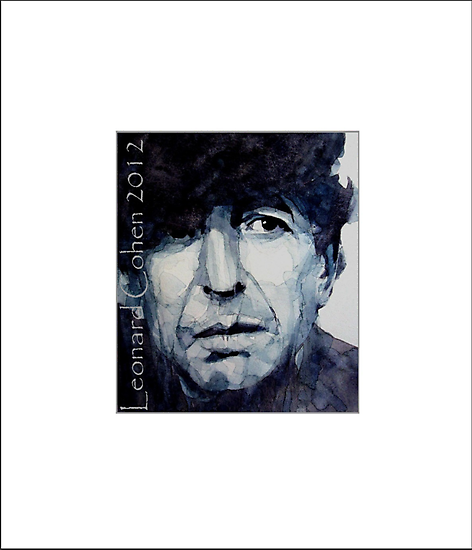 "Old Ideas "" Leonard Cohen "" by LoveringArts"