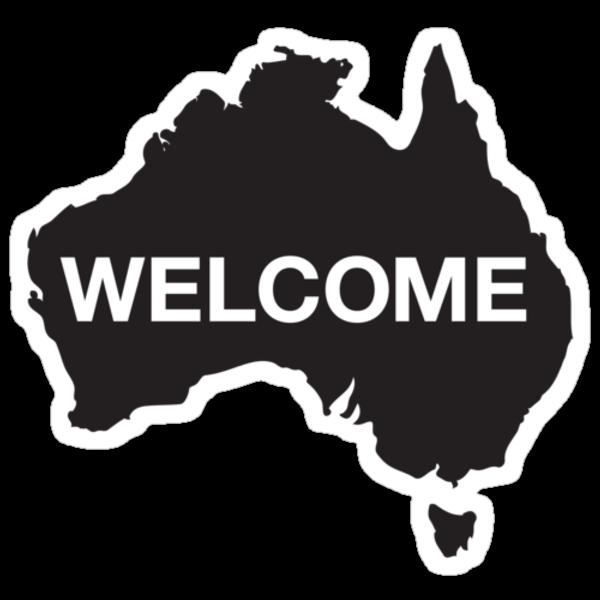 Welcome Australia by dasmich