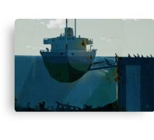 embarkation Canvas Print