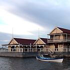 Proudfoot's Historic Boat House by John Sharp