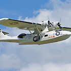 Plane Sailing - Pby Catalina  by Colin J Williams Photography