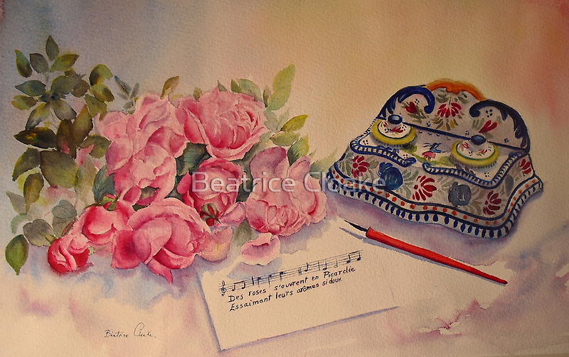 Roses of Picardy by Beatrice Cloake Pasquier