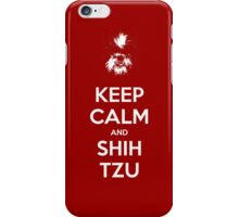 Keep Calm and Shih Tzu iPhone Case/Skin