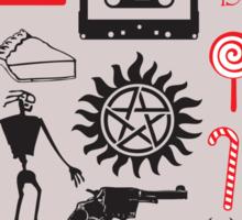 SUPERNATURAL QUOTES - STICKER Sticker