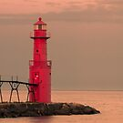 Algoma Lighthouse by Gary Lengyel