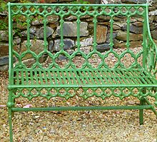 The Green Garden Seat by Fara