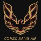 Comic Sans Am by RobGo