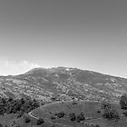 Turrialba Volcano, B&W by mauvarca
