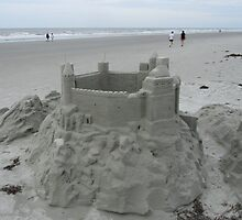 Castle on the beach by Samohsong