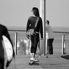 Boardrider girl 14 by stephen walters