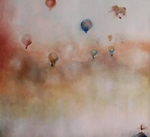 magnificent balloon ride  * special order prints: tokikoandersonart@gmail.com by TokikoAnderson