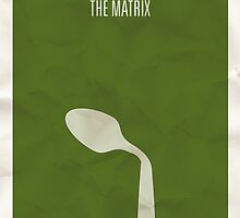 The Matrix minimalist poster by Hunter Langston