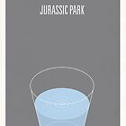 Jurassic Park minimalist poster by Hunter Langston