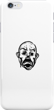 Joker (B) iphone case by 4SAS