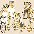 Hipster Meerkats by Rebekie Bennington