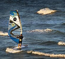 Windsurfing at Torquay by Darren Stones