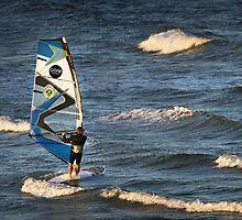 Windsurfing at Torquay by Darren Stones