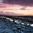 Kilve Sunset by Dr Kev Robinson