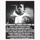 Kendrick Lamar #2 - Section 80 by Weeknd