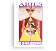 Astrology - Tarot. Aries - The Emperor Metal Print