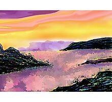 Seascape--On The Rocks. Photographic Print