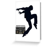 Break Dancing Greeting Card