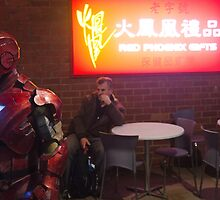Ironman In Chinatown I by agentsmith