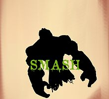 hulk smash by mshorts0305