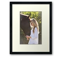 You're always there for me... Framed Print