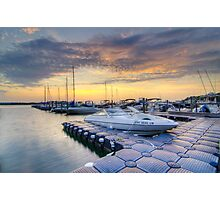 Hamptons Sunset Photographic Print
