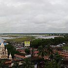 Mayapur Skyline by BaliBriant