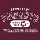 Starkid: Pigfarts wizarding school (white) by Wipi Oly