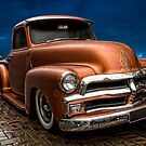 '54 Chevy and '57 International Pickups by resin8n