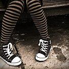 Striped Socks & Sneakers by Fotomus-Digital