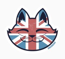 Cheshire POP! - UK Cat Sticker by CheshireGoMad